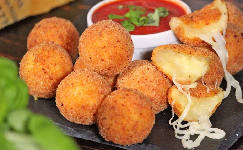 كرات البطاطس الايطاليه