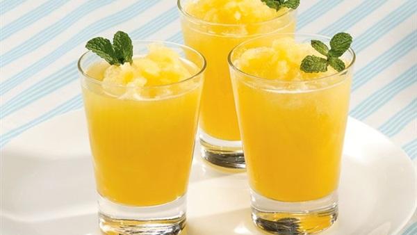 طريقة عمل عصير برتقال بالليمون