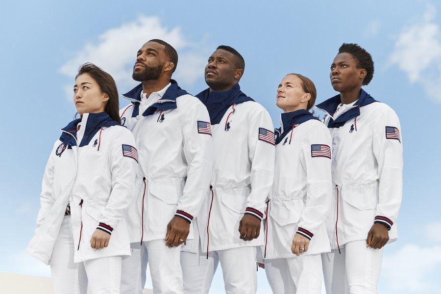 رالف لورين تُطلق مجموعة الملابس والزي الاستعراضي الخاص بالحفل الختامي للفريق الأمريكي
