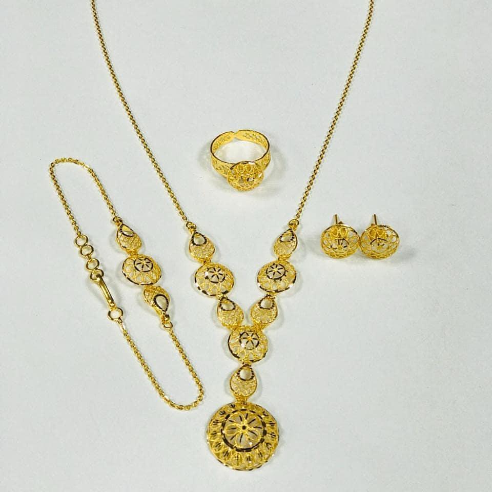 مجوهرات شبكة للعروسة