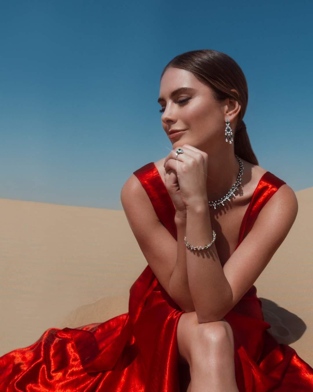 دار معوض للمجوهرات الراقية تطلق حملة الروائع الطبيعية