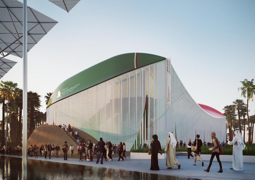 أكوا دي بارما الراعي الداعم للجناح الإيطالي في إكسبو 2020 دبي