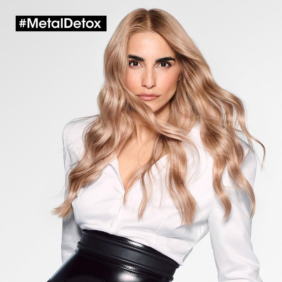 لوريال تقدم Metal Detox الابتكار الثوري الجديد