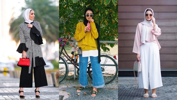 ملابس محجبات كاجوال للنحيفات