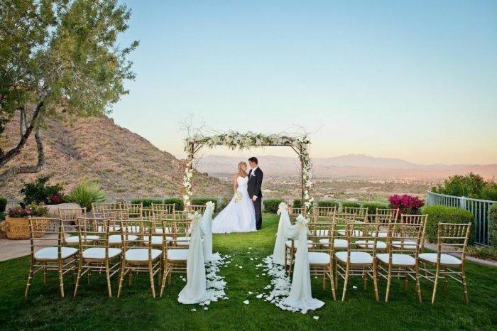 اقامة حفل الزفاف