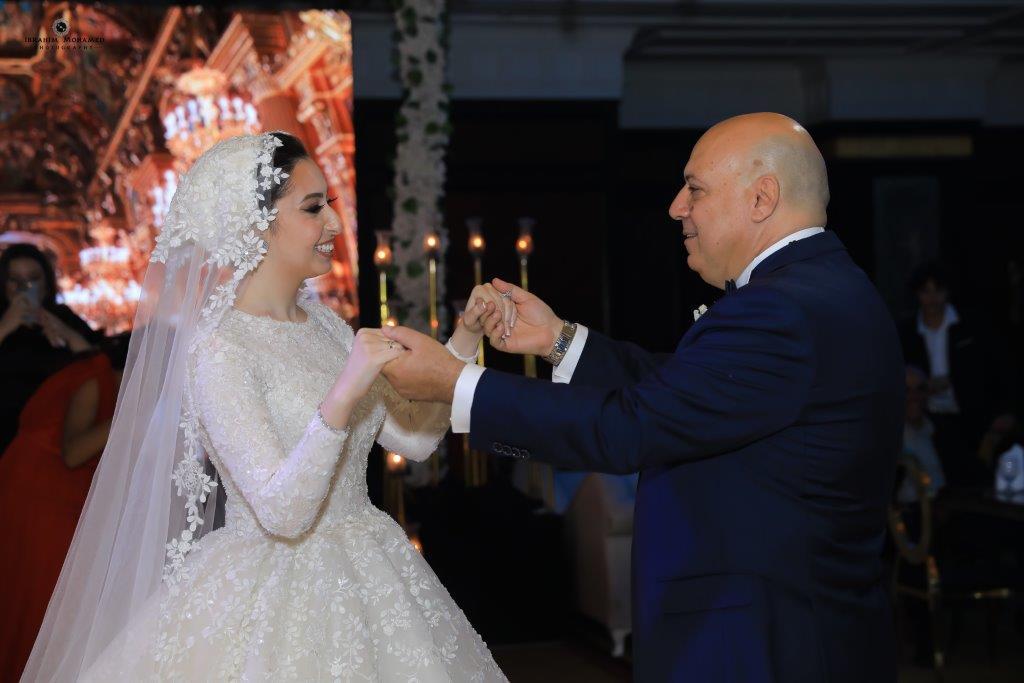 زفاف آلاء ناصر الشامي على حازم كامل نوفل